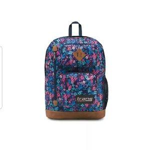 NWT Jansport Floral backpack.
